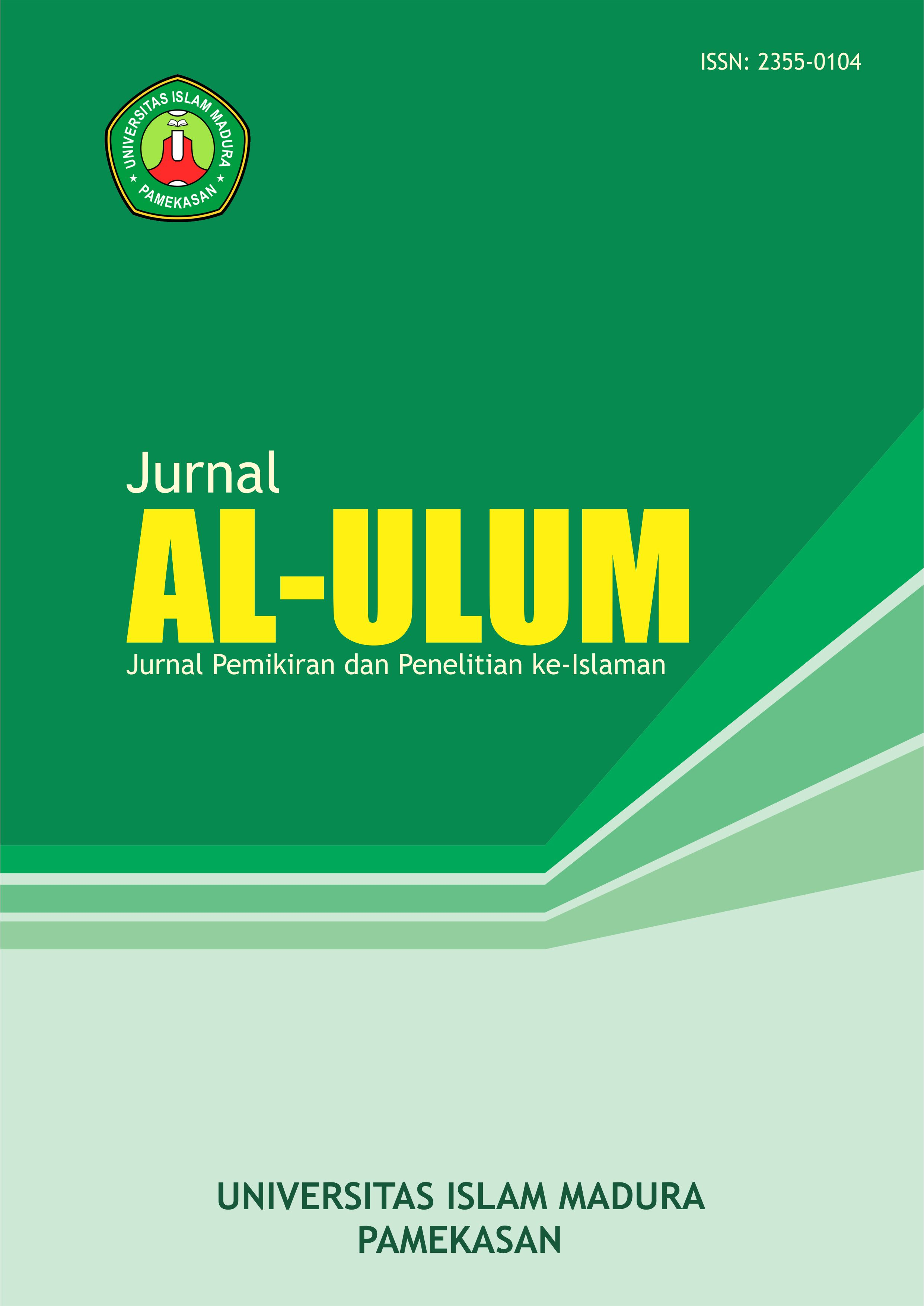 Jurnal Al-Ulum Universitas Islam Madura (UIM) Pamekasan