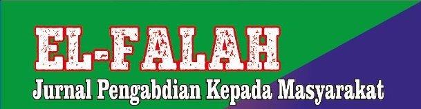 El-Falah: Jurnal Pengabdian Kepada Masyarakat